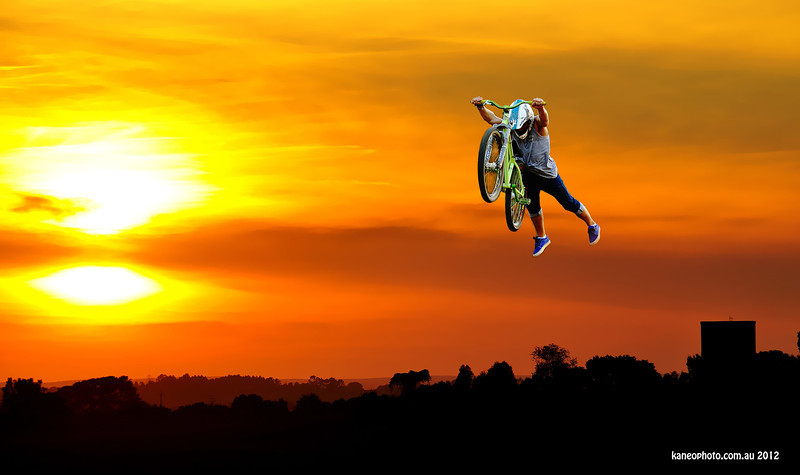 Tom Hall sunset