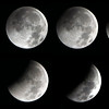 Composite of Moon Eclipse sequence...