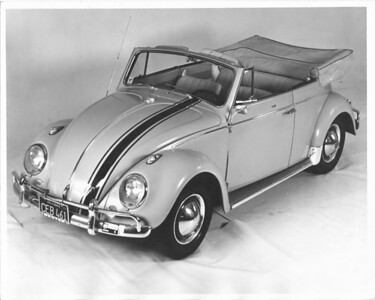 My 1963 Volkswagen convertible (which I never should have sold...)