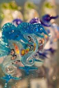 glass seahorse
