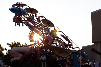 Sunset over Funland