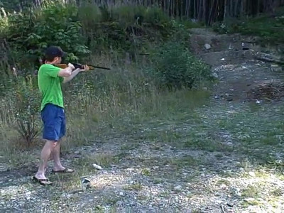 Me with the Browning 16 gauge semi-auto