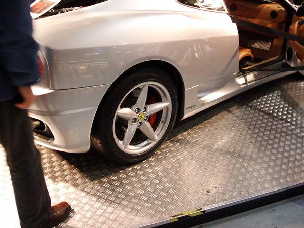 Ferrari in Luton airport