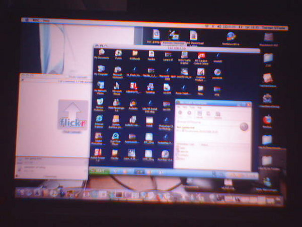 screen shot of my powerbook