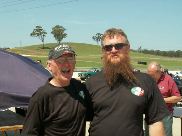 Paul Smart and me Eastern Creek 2007