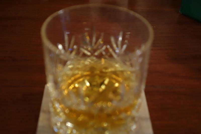 A glass of Yamazaki 12.