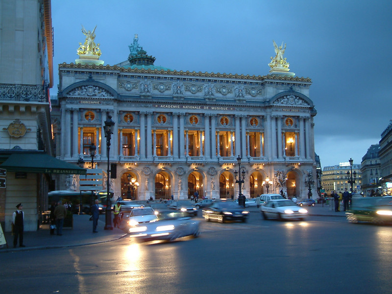 Paris Opera House -- Photo by Robert Capozello