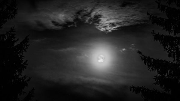 Super moon 11.8.2014