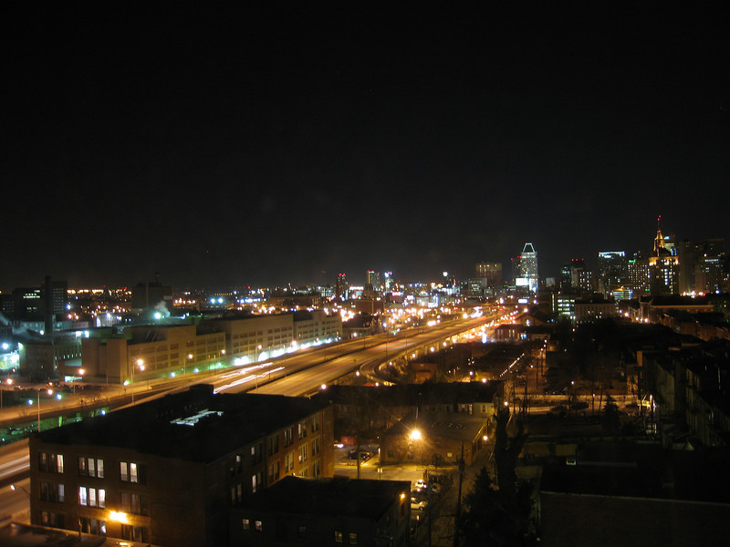 Baltimore from K's window