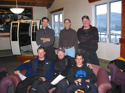 Ski Instructor Qualification School 2002 - 2003 Season<br /> Bottom L2R: Scott/Me, Brian, Patrick, Top: Nestor, Mark, Keith