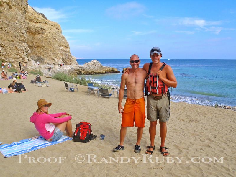 """Kayak Lessons at """"Terranea Resort"""" Palos Verdes, Ca."""