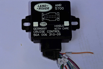 """This is the AMR5700 ECU with """"pigtails"""" (note no connector on the other end of the wires - """"pigtails"""" I purchased from Paul Grant (http://stores.ebay.com/Classic-Rovers). Also note I labelled the cables to their respective targets on the AMR1173 connector pins - makes life easier when your soldering."""