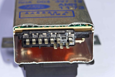 AMR1173 ECU with the black plastic front cover removed
