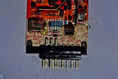 AMR1173 ECU - showing some of the circuitry removed.