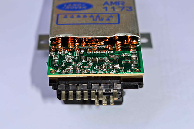 AMR1173 ECU - slide out the pc-board (we are going to use these connectors and part of the pc-board).