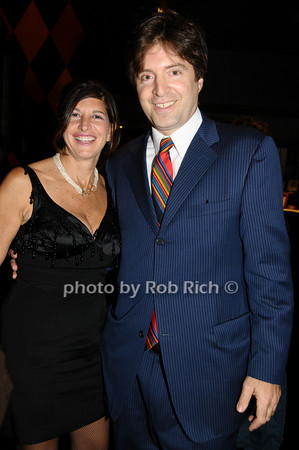 Cindy Farkas Glanzsrock, Lawrence Benenson<br /> photo by Rob Rich © 2009 516-676-3939 robwayne1@aol.com