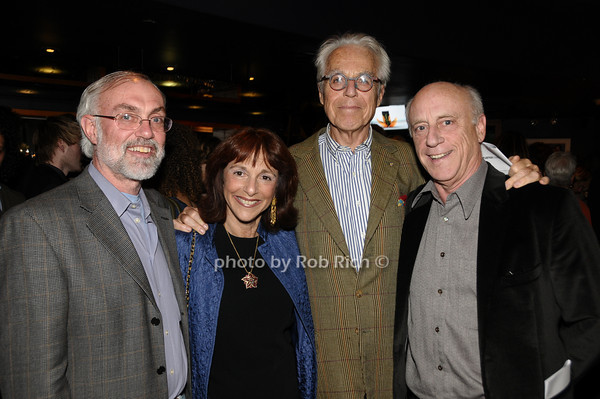 David Van Asselt, Nina Darnton, John Guare, John Darnton<br /> photo by Rob Rich © 2009 516-676-3939 robwayne1@aol.com