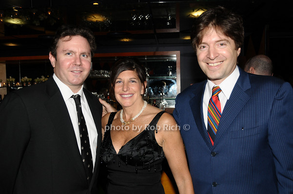 Robert Striker, Cindy Farkas Glanzrock, Lawrence Benenson<br /> photo by Rob Rich © 2009 516-676-3939 robwayne1@aol.com