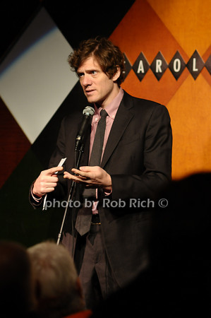 Adam Rapp (recepient of the Bonasorte Prize)<br /> photo by Rob Rich © 2009 516-676-3939 robwayne1@aol.com
