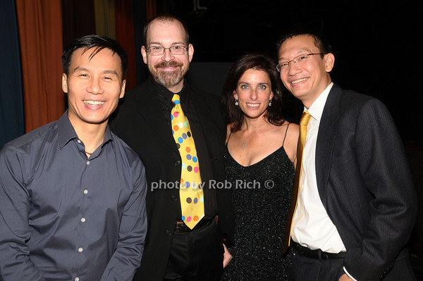 B.D. Wong, guest, Sandra Coudert, guest<br /> photo by Rob Rich © 2009 516-676-3939 robwayne1@aol.com
