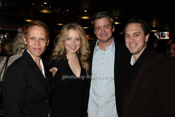 Lucie Viverghien,Jennifer Mudge, Chris Coffey, Tom Sadowski<br /> photo by Rob Rich © 2009 516-676-3939 robwayne1@aol.com