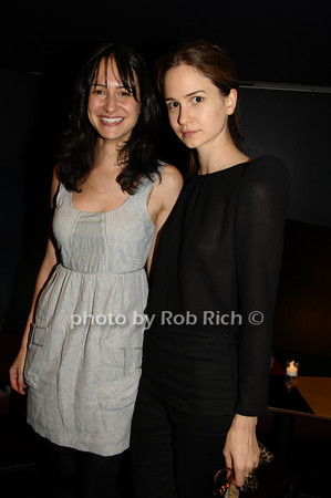 Elisabeth Waterston, Katherine Waterston<br /> photo by Rob Rich © 2009 516-676-3939 robwayne1@aol.com