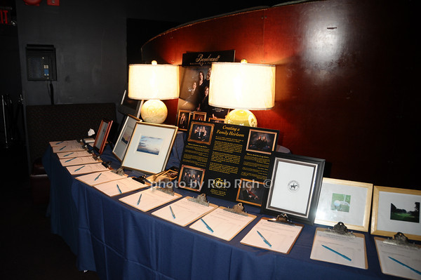 auction items<br /> photo by Rob Rich © 2009 516-676-3939 robwayne1@aol.com