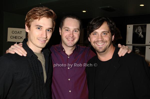Seth Mumrich, Denis Butkus, Daniel Talbott<br /> photo by Rob Rich © 2009 516-676-3939 robwayne1@aol.com