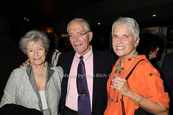 Pat Heller, Jimmy Rosenwald, Mimi Rosenwald<br /> photo by Rob Rich © 2009 516-676-3939 robwayne1@aol.com