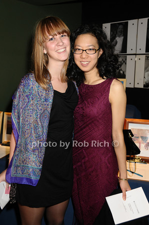 Erica Rannestad, Peiharn Chen<br /> photo by Rob Rich © 2009 516-676-3939 robwayne1@aol.com