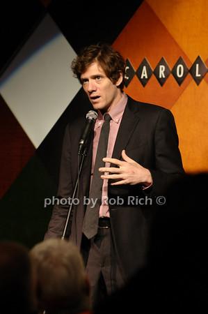 Adam Rapp (recepient of the Bonasorte Prize)<br /> photo by Rob Rich © 2009 516-676-3939 robwayne1@aol.com