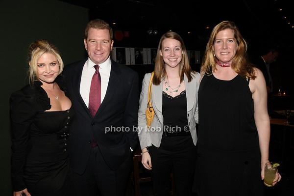 Krista MacLeod, Scott Perrin, Maggie McEneney, Madeline McEneney<br /> photo by Rob Rich © 2009 516-676-3939 robwayne1@aol.com