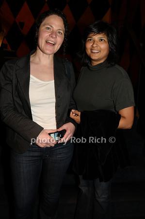 Lucy Thurber, Aashlesha Patel<br /> photo by Rob Rich © 2009 516-676-3939 robwayne1@aol.com