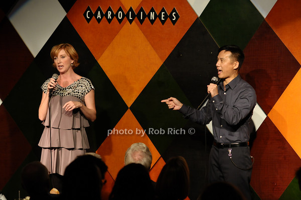 Anastasia Barzee, B.D. Wong<br /> photo by Rob Rich © 2009 516-676-3939 robwayne1@aol.com