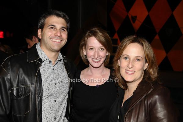 Jeff Lazarus, Julia Lazarus, Zina Goldrich<br /> photo by Rob Rich © 2009 516-676-3939 robwayne1@aol.com