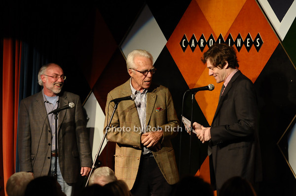 David Van Asselt,  John Guare, Adam Rapp<br /> photo by Rob Rich © 2009 516-676-3939 robwayne1@aol.com