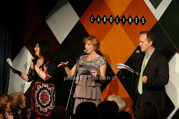 Marcy Heisler, Anastasia Barzee, David Breach<br /> photo by Rob Rich © 2009 516-676-3939 robwayne1@aol.com