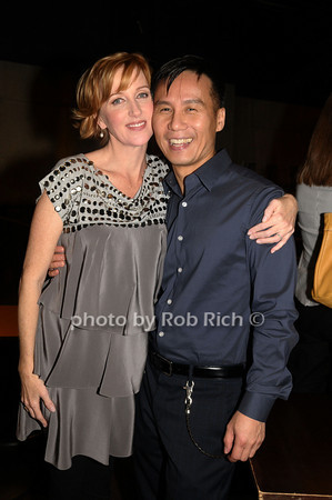 Anastasia Barzee, B.D. Wong<br /> photo by Rob Rich © 2009 516-676-3939 robwayne1@aol.com