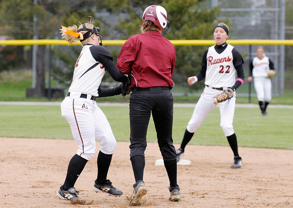 Don Knight | The Herald Bulletin<br /> Anderson University faced Transylvania as the Ravens hosted the HCAC tournament on Friday.
