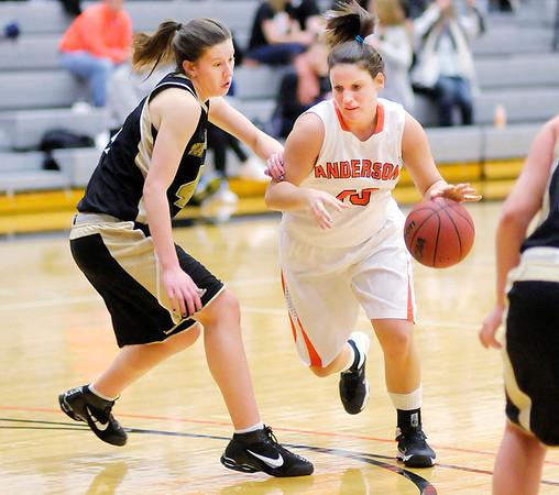 Don Knight / The Herald Bulletin<br /> Anderson hosted Manchester on Wednesday.