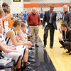 Don Knight / The Herald Bulletin<br /> AU hosted Mount St. Joseph on Wednesday.