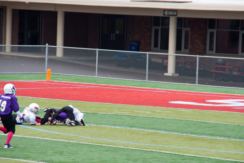 10-20-2012 Raven's getting tackled