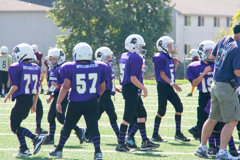 8-25-2012 Raven's football Jamboree