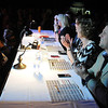 The Raw Fusion judges watch the show Friday. Photo by Pat Christman