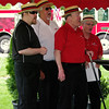 "Mark Maynard | for The Herald Bulletin<br /> The Winchester Speeday Quartet sing ""Back Home Again in Indiana during the dedication of a marker honoring Ray Harroun, winner of the first Indianapolis 500, at Anderson Memorial Park Cemetary on Sunday."