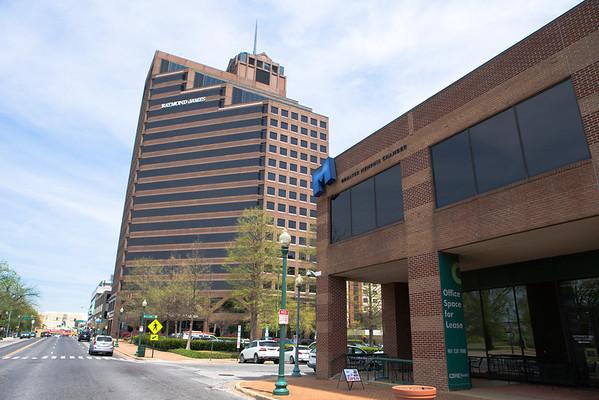 Raymond James Building w/Falls Building