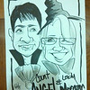 A caricature of my daughter Morgan and her boyfriend Angel drawn at the Indy Scream Park in Anderson.<br /> <br /> Photographer's Name: Ranotta Elbert<br /> Photographer's City and State: Alexandria, Ind.