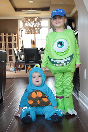 My grandchildren, Clayton and Leah Adams of Huntertown, Ind., are all ready for Halloween!<br /> <br /> Photographer's Name: Diana Adams<br /> Photographer's City and State: Frankton, Ind.