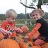 My grandchildren, Clayton and Leah Adams of Huntertown, Ind., picking out their pumpkins!<br /> <br /> Photographer's Name: Diana Adams<br /> Photographer's City and State: Frankton, Ind.