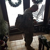 Home for the Holidays: Pvt. Levi Landers going back to Fort Benning, January 4, 2014.<br /> <br /> Photographer's Name: Rachel Landers<br /> Photographer's City and State: Anderson, Ind.